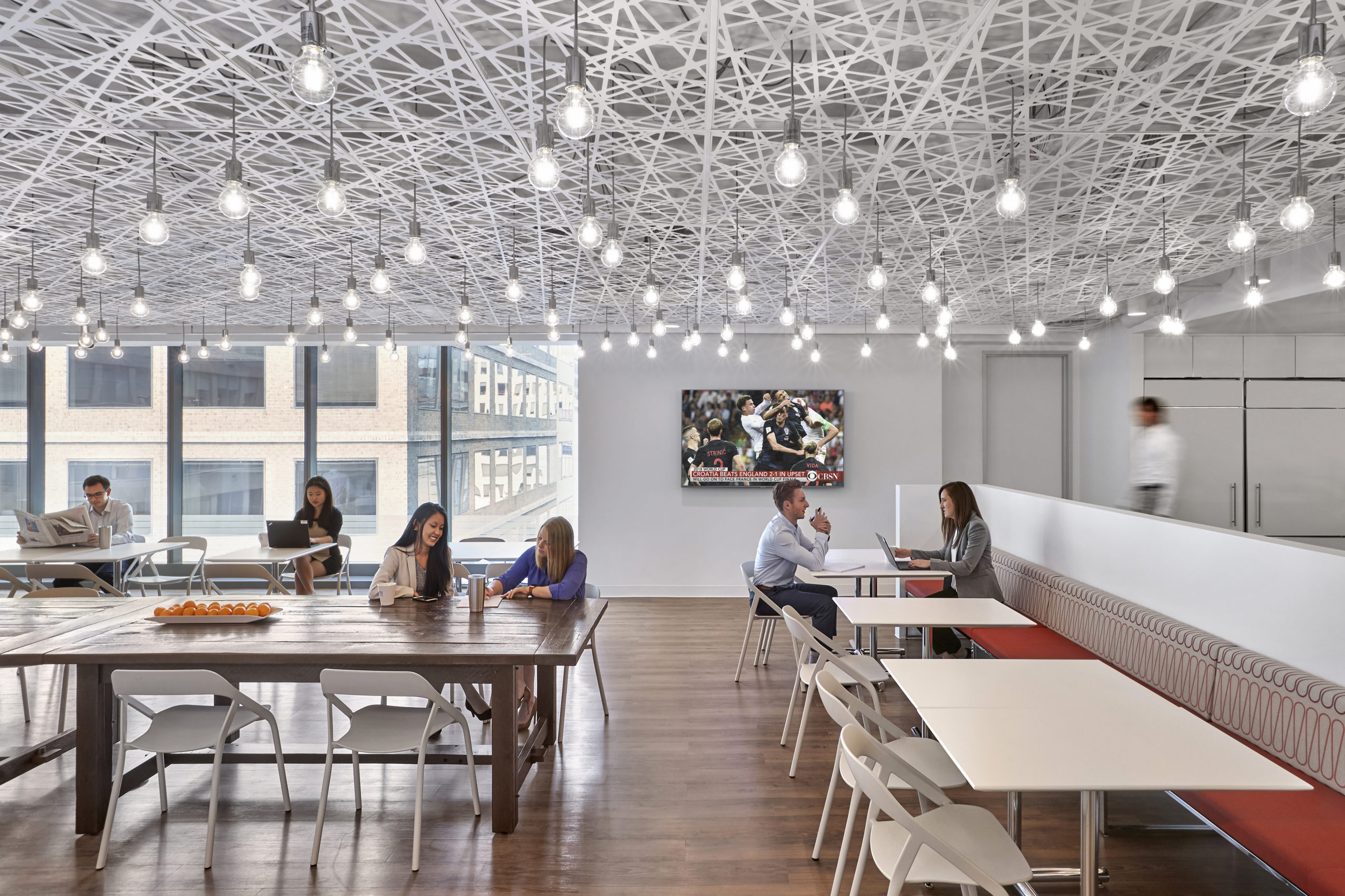 Bates White Washington, DC shared space with employees working