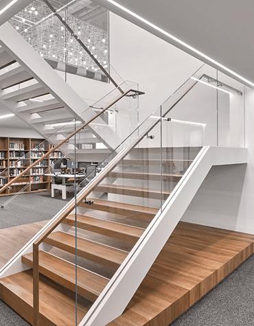 Bates White Washington, DC office staircase