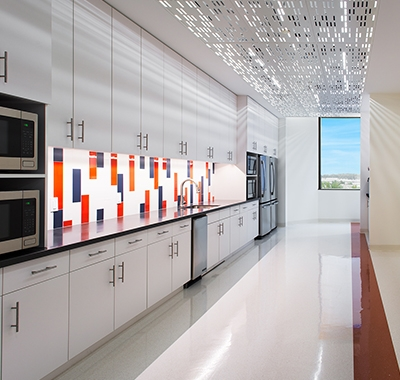 Appian office shared kitchen