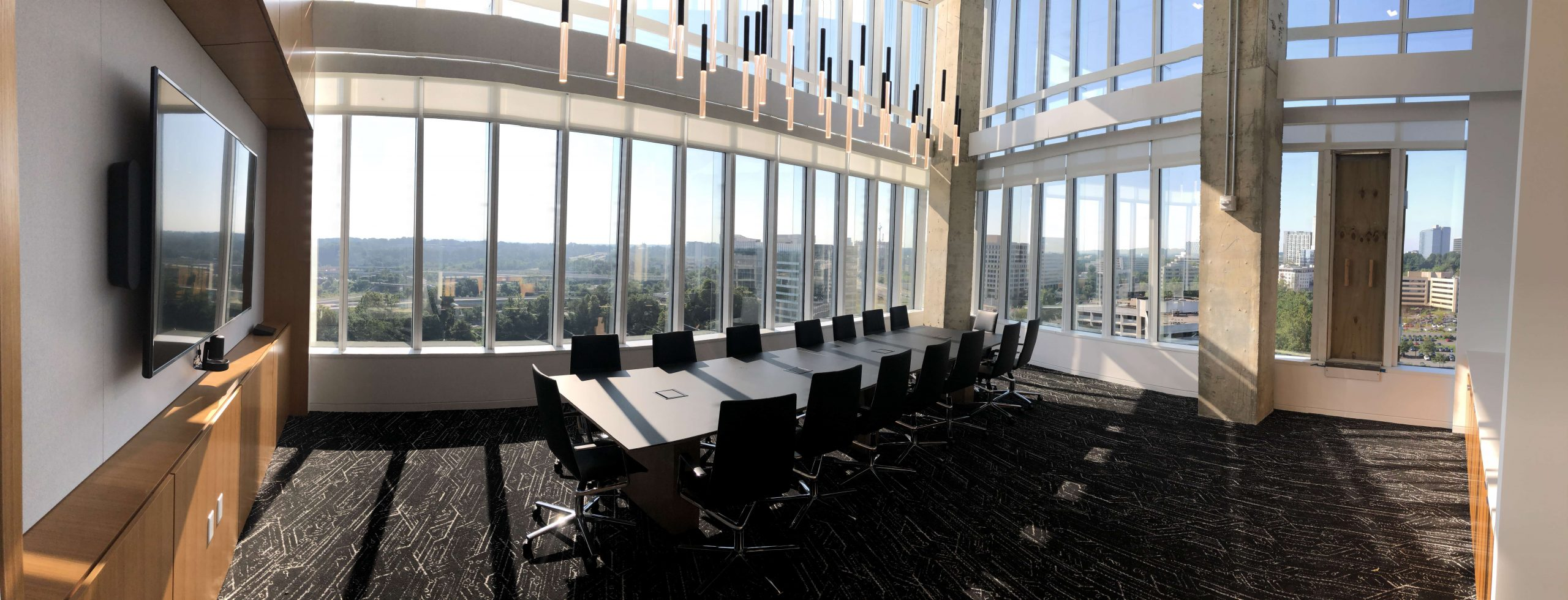 Appian Conference room with windows