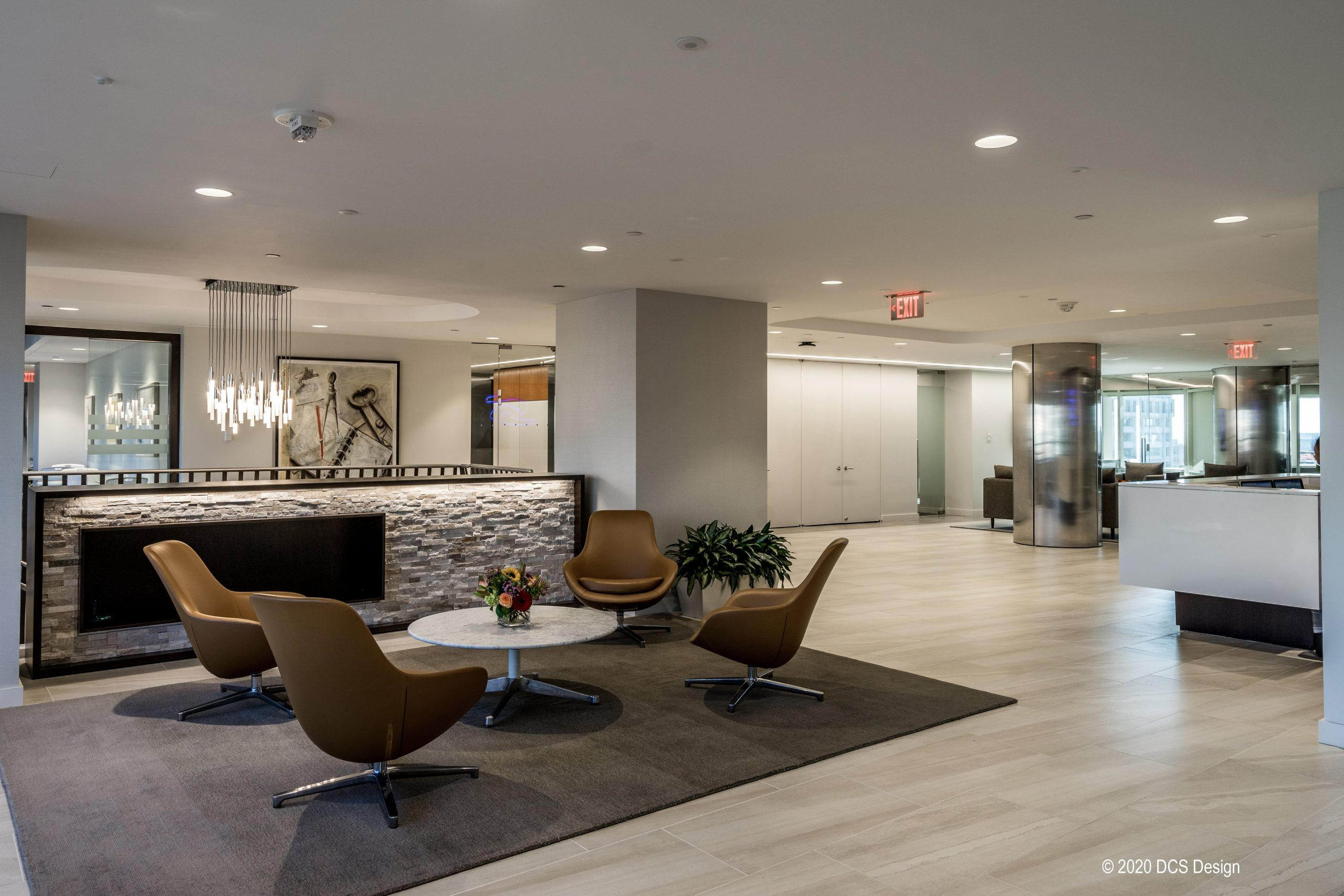 Sughrue lobby seating