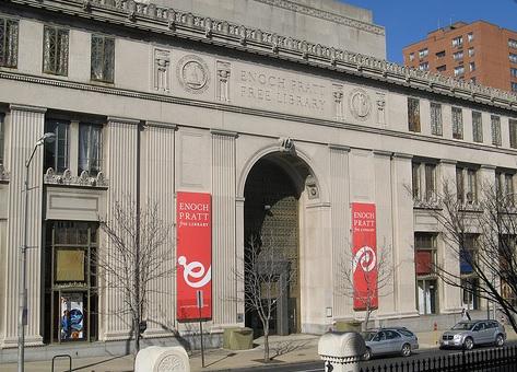 Enoch Pratt Library Exterior View