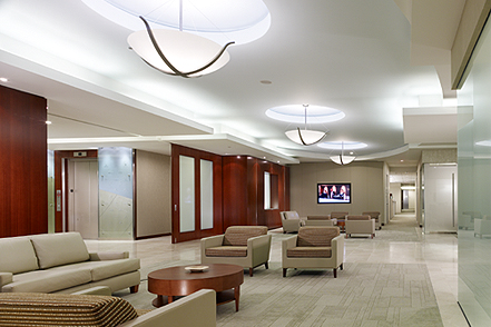 Hilton Worldwide lobby- Park Place II McLean, Virginia