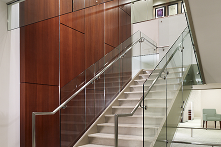 Hilton Worldwide stairs - Park Place II McLean, Virginia